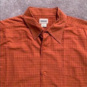 🔷2 for$20 Guest short sleeve button down shirt